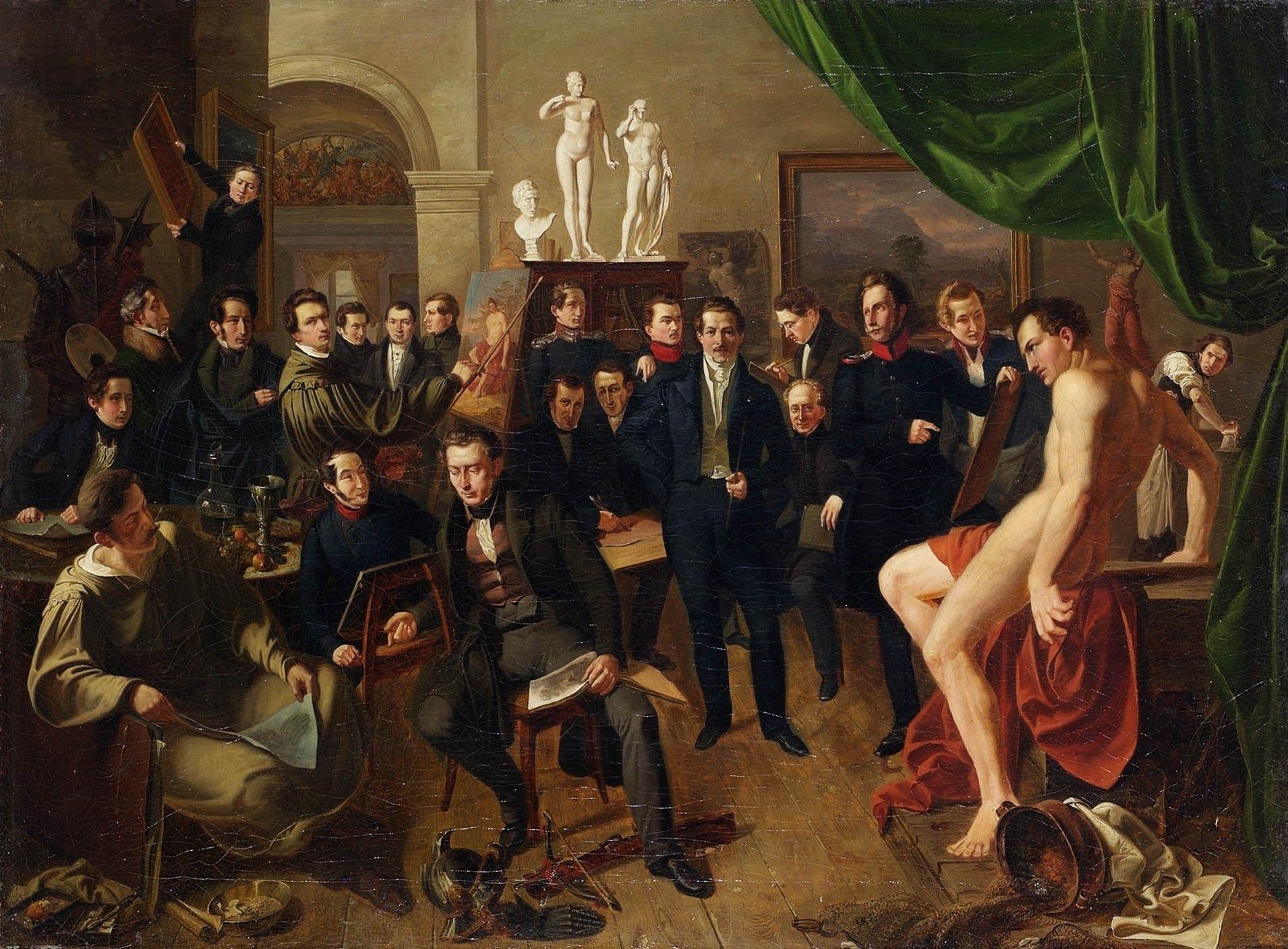 Genremalerei 19. jahrhundert  Vortrag